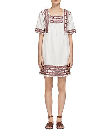 Whistles - Selina Embroidered Tunic Dress
