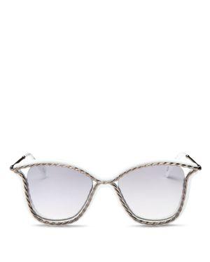 Marc Jacobs Mirrored Cat Eye Sunglasses, 52mm