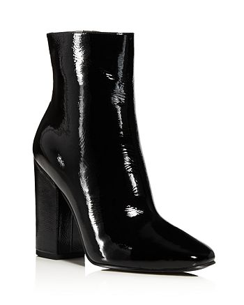 KENDALL and KYLIE - Women's Haedyn Patent Leather Booties