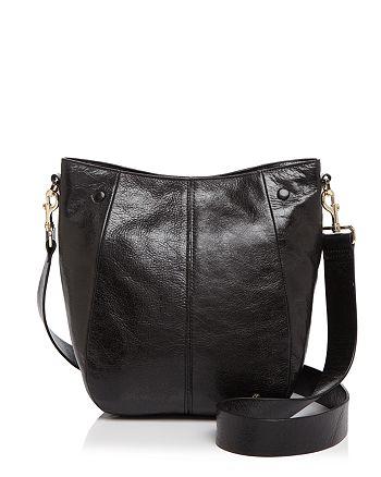 HALSTON HERITAGE - Ali Medium Leather Bucket Bag d753732f348d6