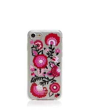 kate spade new york Jeweled Garland iPhone 7 Case