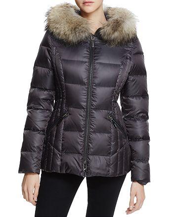 845503778531 Dawn Levy Nikki Fur Trim Short Down Coat | Bloomingdale's