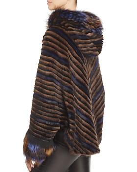 Maximilian Furs - Mink Fur Chevron Jacket - 100% Exclusive