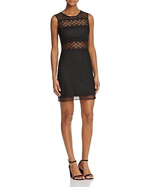 Aqua Illusion Lace Sleeveless Dress - 100% Exclusive