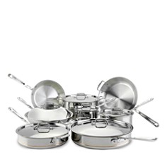 All-Clad - Copper Core 14-Piece Cookware Set