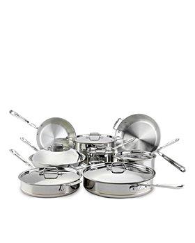 All-Clad - Copper Core 14-Piece Cookware Set