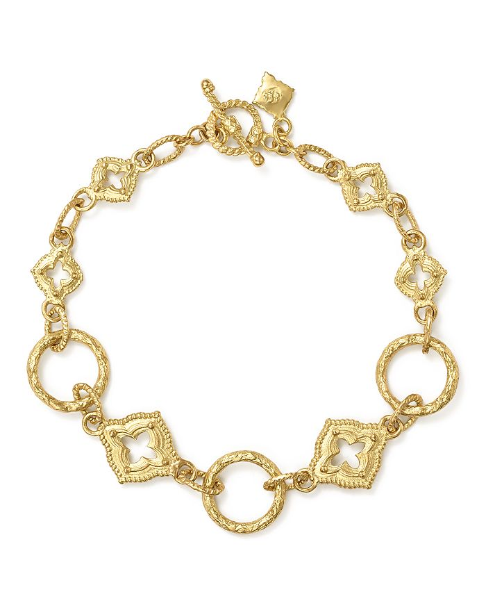 Armenta - 18K Yellow Gold Sueno Sculpted Circle Link Bracelet