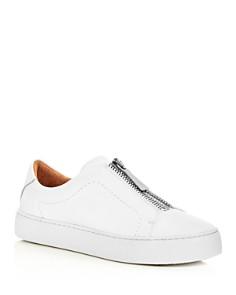 Frye - Women's Lena Leather Platform Sneakers