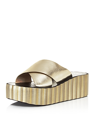 Tory Burch Scalloped Wedge Flip-Flops