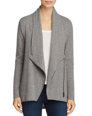C by Bloomingdale's Cashmere Zip-Front Sweater Jacket - 100% Exclusive