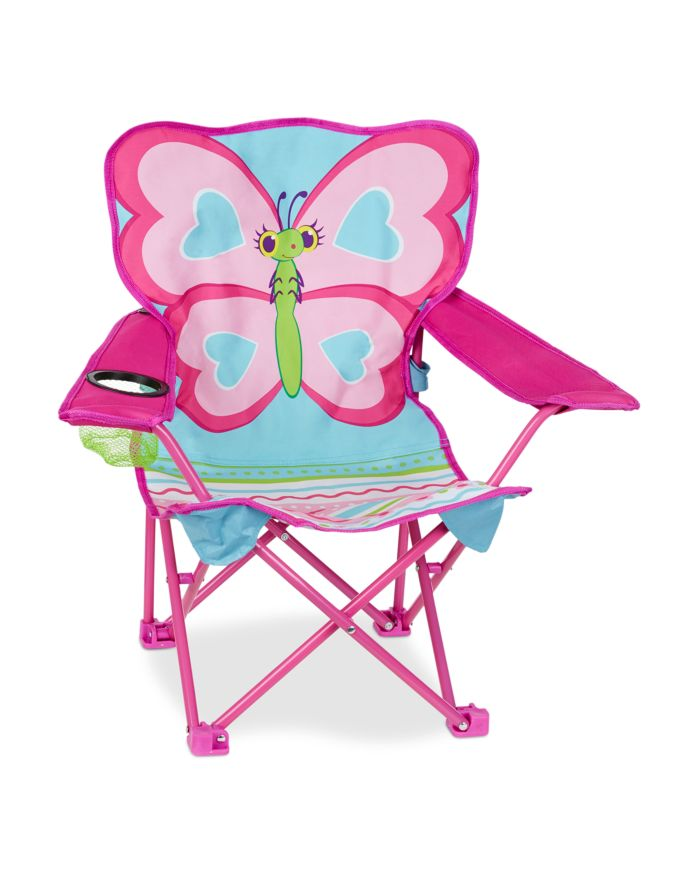 Melissa & Doug Butterfly Camp Folding Chair - Ages 3+    Bloomingdale's