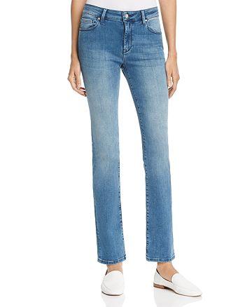 Mavi - Kendra Straight Leg Jeans in Light Fogg