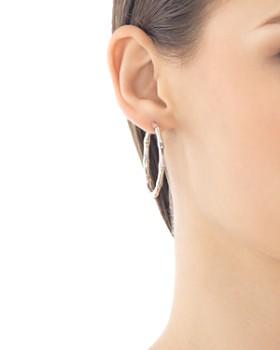 John Hardy - John Hardy Bamboo Medium Hoop Earrings