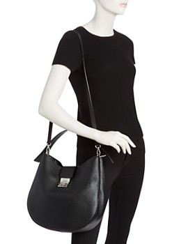 MCM - Patricia Park Avenue Medium Leather Hobo