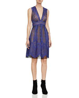 Bcbgmaxazria Kellyn Embroidered Dress