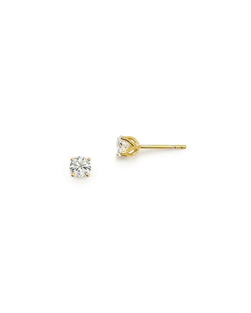 Bloomingdale's - Diamond Round Tulip Stud Earrings in 14K Yellow Gold, .33 ct. t.w. - 100% Exclusive