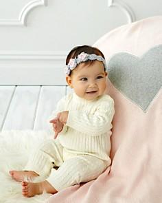 Elegant Baby - Infant Girls' Heart Blanket