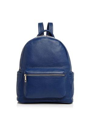 Aqua Leather Backpack - 100% Exclusive