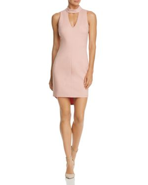 Adelyn Rae Nicole Keyhole Body-Con Dress