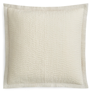 Oake Linen Quilted Euro Sham - 100% Exclusive