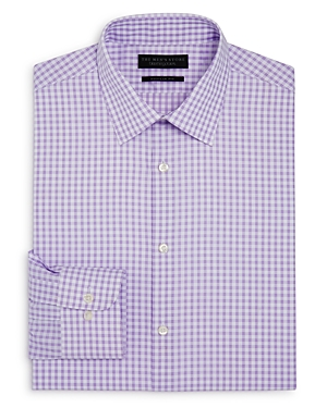 The Men's Store at Bloomingdale's Gingham Regular Fit Dress Shirt - 100% Exclusive