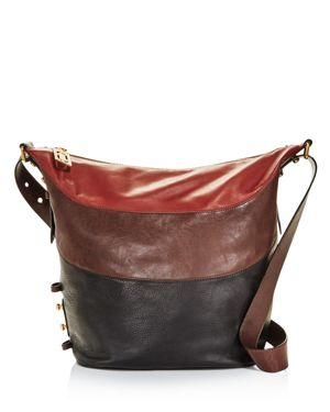 Marc Jacobs The Exaggerated Sling Tricolor Leather Hobo