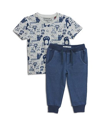 Sovereign Code - Boys' Animal Print Tee & Jogger Pants Set - Baby