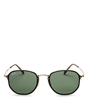 Ray-Ban Blaze Rimless Square Sunglasses, 58mm