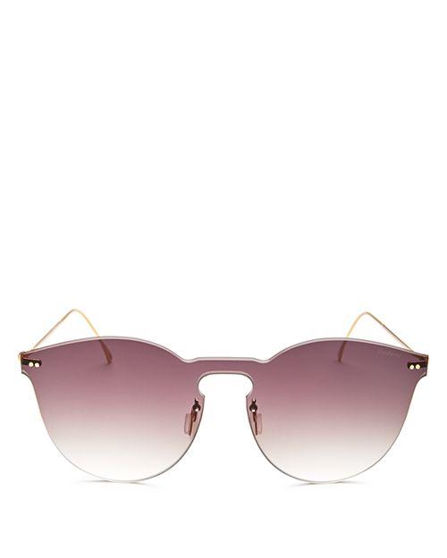 Illesteva - Women's Leonard Mask II Oversized Shield Sunglasses, 50mm
