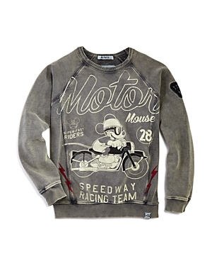 Courage  Kind Boys Micky Moto Sweatshirt Little Kid Big Kid  100 Exclusive