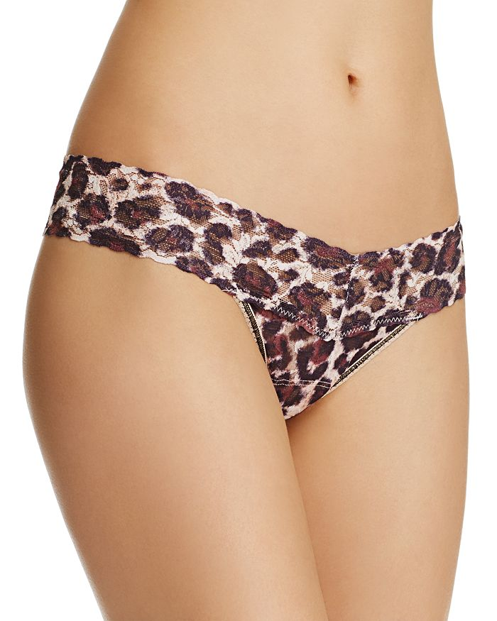 Hanky Panky - Low-Rise Printed Lace Thong