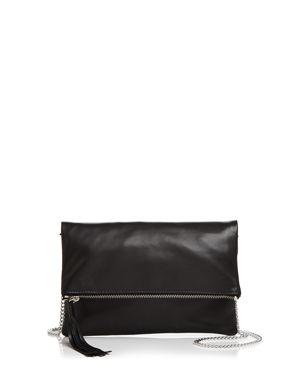Aqua Foldover Leather Crossbody - 100% Exclusive 2899188