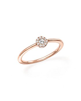 Bloomingdale's - Diamond Cluster Stacking Ring in 14K Rose Gold, .10 ct. t.w. - 100% Exclusive