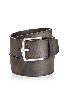 Burberry Joe London Check Leather Belt - Bloomingdale's_0