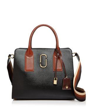 Marc Jacobs Big Shot Color Block Saffiano Leather Satchel 2899169