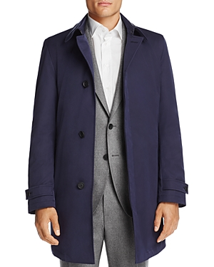 Boss Hugo Boss Raincoat with Quilted Lining