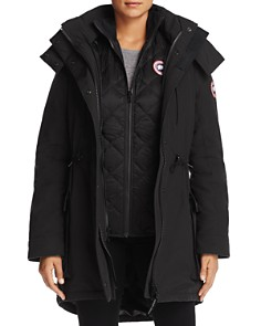 Canada Goose - Perley Shearling Trim 3-in-1 Down Parka