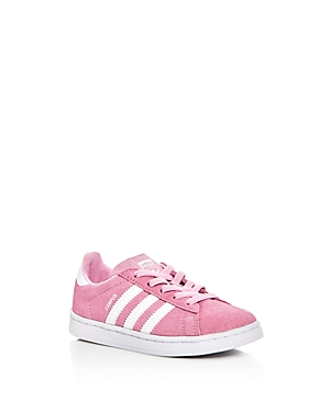 Adidas Girls Campus Suede Lace Up Sneakers  Walker Toddler