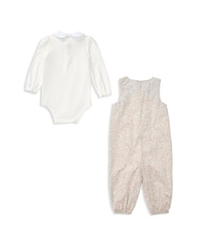Ralph Lauren - Girls' Bodysuit & Floral Overalls Set - Baby
