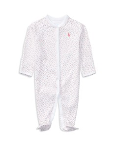 Ralph Lauren - Girls' Layette Printed Footie - Baby