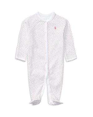 Ralph Lauren Childrenswear Girls Layette Printed Footie  Baby