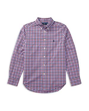 Ralph Lauren Childrenswear Boys Plaid ButtonDown Shirt  Big Kid