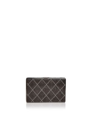 Sondra Roberts Quilted Leather Clutch 2668306