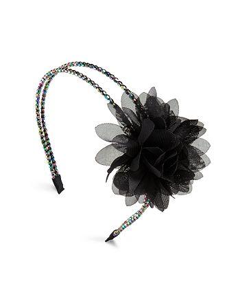 Capelli - Girls' Beaded Flower Headband