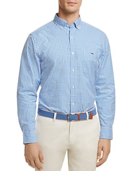 Vineyard Vines - Stowaway Gingham Button-Down Classic Fit Shirt