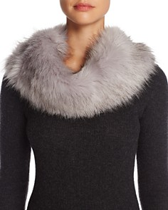 Cara New York Faux Fur Collar - 100% Exclusive - Bloomingdale's_0