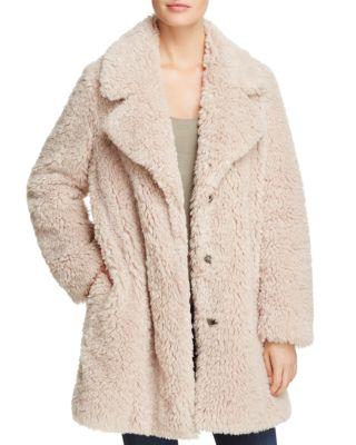 $SAGE Collective Faux Fur Teddy Coat - 100% Exclusive - Bloomingdale's