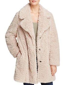 SAGE Collective - Faux Fur Teddy Coat - 100% Exclusive