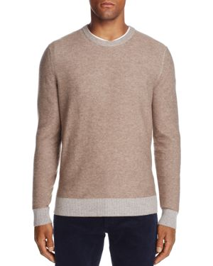The Men's Store at Bloomingdale's Crewneck Wool & Cashmere Sweater - 100% Exclusive 2846427
