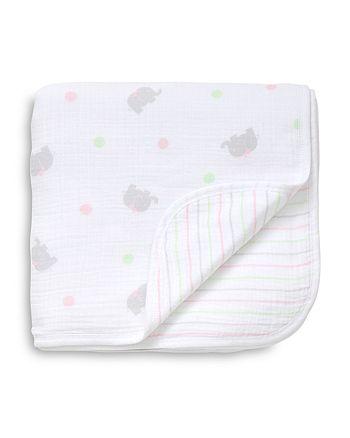 Little Me - Infant Girls' Sweet Elephant Blanket
